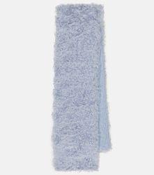 Écharpe en mohair, coton et laine - Miu Miu - Modalova