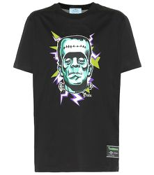T-shirt Frankenstein imprimé en coton - Prada - Modalova