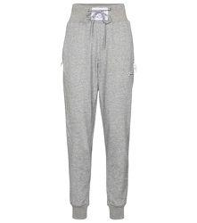 Pantalon de survêtement à taille haute en coton mélangé - Adam Selman Sport - Modalova