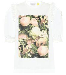 T-shirt imprimé en coton 4 MONCLER SIMONE ROCHA - Moncler Genius - Modalova