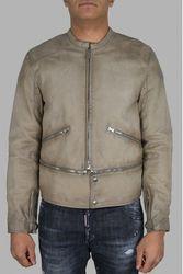 Veste en cuir - Taille: XL - Golden Goose Deluxe Brand - Modalova