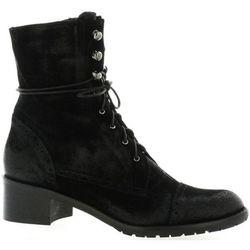 Boots Pao Rangers cuir velours - Pao - Modalova