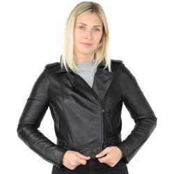 Blouson Blouson style Perfecto en cuir ref_43980 Noir - Oakwood - Modalova