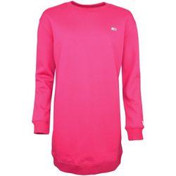 Robe Robe sweat rouge bordeaux - Tommy Jeans - Modalova