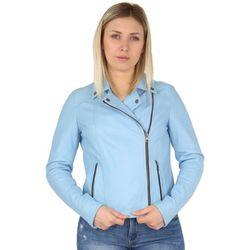Blouson Blouson style perfecto Melina en cuir ref_ - Oakwood - Modalova