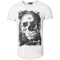 T-shirt T-shirt imprimé tête de mort T-shirt 4575 blanc - Carisma - Modalova