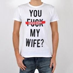 T-shirt Japan Rags T-Shirt My Wife - Japan Rags - Modalova