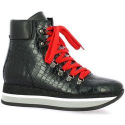 Chaussures Baskets cuir serpent - Exit - Modalova