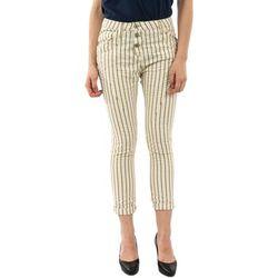 Pantalon Please p78z 2188 panna/oro - Please - Modalova