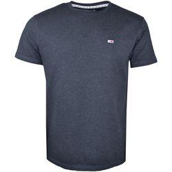 T-shirt T-shirt col rond noir basique - Tommy Jeans - Modalova