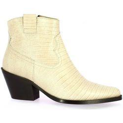 Boots Exit Boots cuir serpent - Exit - Modalova