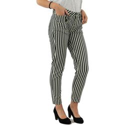 Pantalon p1ym 2136 bianco/blu - Please - Modalova