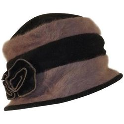 Chapeau Chapeau cloche bi color ANNA - Chapeau-Tendance - Modalova