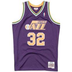 T-shirt Maillot NBA Karl Malone Utah J - Mitchell And Ness - Modalova