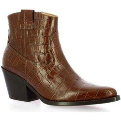 Boots Exit Boots cuir croco - Exit - Modalova