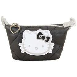 Portefeuille Porte monnaie Noir surpiqué - Hello Kitty - Modalova
