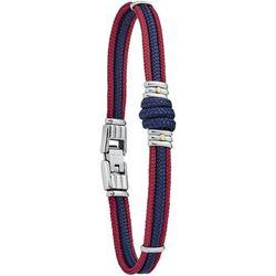 Bracelets Bracelet Omaha corde bicolore or acier - Jourdan - Modalova