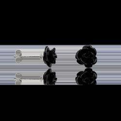 Boucles oreilles Boucles d'oreilles en Argent 925/1000 et Onyx - Cleor - Modalova