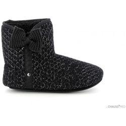 Chaussons chaussons lurex noir 97169 - Isotoner - Modalova
