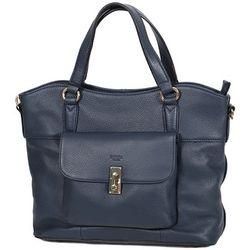 Cabas Sac Shopping Cuir De Vachette Souple 89705 - Katana - Modalova
