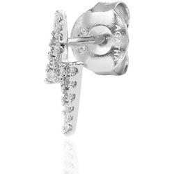 Bijoux piercing Piercing puce ECLAIR - Cristal - Argenté - Agatha Ruiz de la Prada - Modalova
