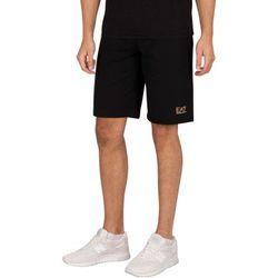 Short Logo Sweat Shorts - Emporio Armani EA7 - Modalova