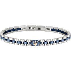Bracelets Bracelet en Acier Bicolore - Maserati - Modalova