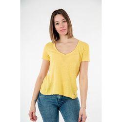 T-shirt t0ay 1237 giallo minerale - Please - Modalova