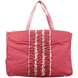 Cabas Sac cabas toile déco froufrou rose framboise - Patrick Blanc - Modalova