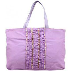 Cabas Sac cabas toile déco froufrou violet - Patrick Blanc - Modalova