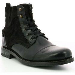 Boots Bottines Gab cuir - Hush puppies - Modalova
