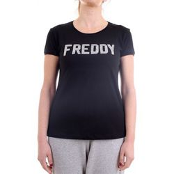 T-shirt S1WCLT1 T-Shirt/Polo noir - Freddy - Modalova