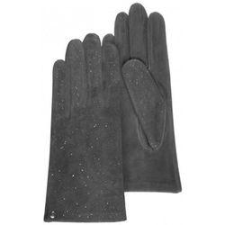Gants Gants femme cuir velours doublés soie Gris 68268 - Isotoner - Modalova