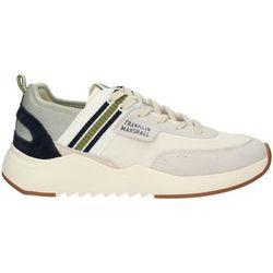 Chaussures FFIE0027T faible BLANC VERT MARINE - Franklin & Marshall - Modalova