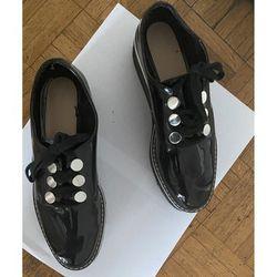 Chaussures Derbies compensées - Zara - Modalova