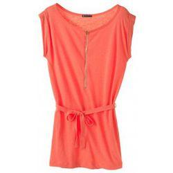Robe Robe en jersey flammé 32992 20 Orange - Petit Bateau - Modalova