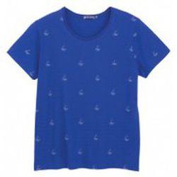 T-shirt Tee shirt MC 3433448220 Bleu - Petit Bateau - Modalova