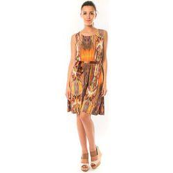 Robe Robe Elissa B369 Orange - Dress Code - Modalova