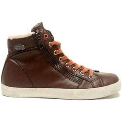 Chaussures Baskets Pratik H14IGC009 Marron - Little Marcel - Modalova