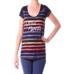 T-shirt T-shirt Tasoli H14IBF033 Noir - Little Marcel - Modalova