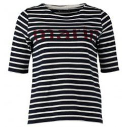 T-shirt Tee-shirt Marinière 1078949240 Bleu - Petit Bateau - Modalova