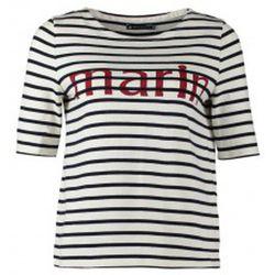 T-shirt Tee-shirt Marinière 1078949240 Blanc - Petit Bateau - Modalova