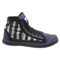 Chaussures Baskets Samba Up Stripes Bleu - Little Marcel - Modalova