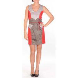 Robe Robe Fraise rouge/gris/anthracite - Dress Code - Modalova