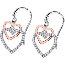Boucles d'oreilles Lotus Silver MOMENTS - Boucles d'oreilles MOMENTS Argent Coeur Lotus Silver - LP1817-4-2 - Modalova