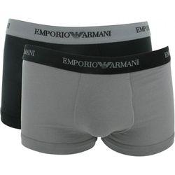 Lot de 2 boxers logotés ceinture élastique - coton stretch - 111210-CC717-03320-M - Modalova