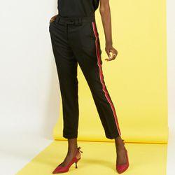 Promo : Pantalon fluide à bandes Carlos - 3S. x Le Vestiaire - Modalova