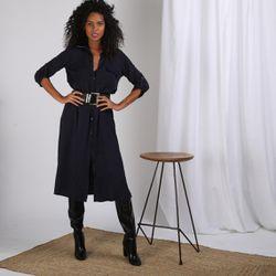 Promo : Robe chemise ceinturée Dandy - 3S. x Le Vestiaire - Modalova