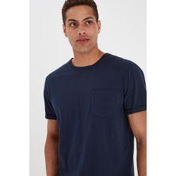 Tee-shirt col rond en Coton Organic - Blend - Modalova