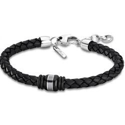 Bracelet Lotus Style - Bracelet Urban Man Tressé Noir - LS1814-2-6 - Modalova